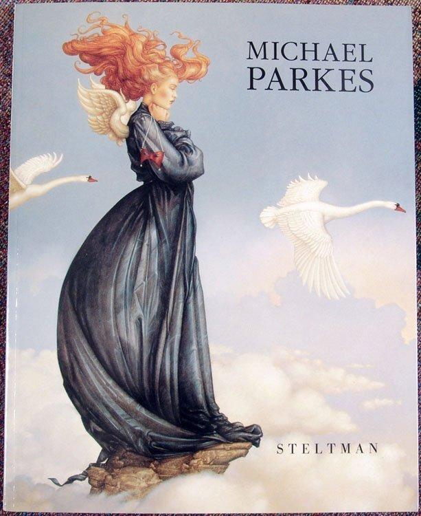 1994 Book MICHAEL PARKES Paintings, Drawings, & Lithos