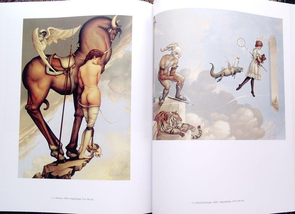 1994 Book MICHAEL PARKES Paintings, Drawings, & Lithos - 2