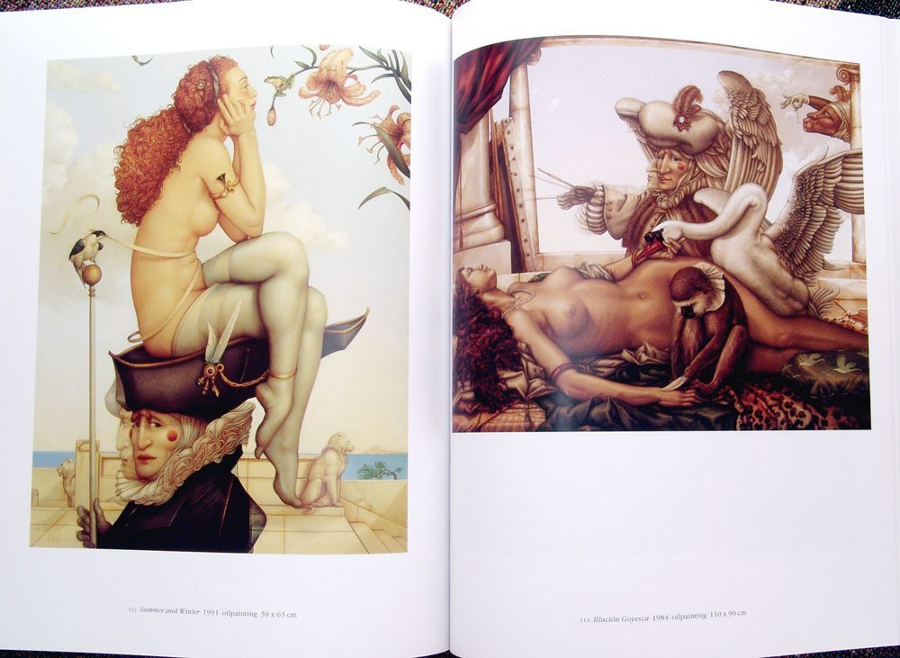 1994 Book MICHAEL PARKES Paintings, Drawings, & Lithos - 3