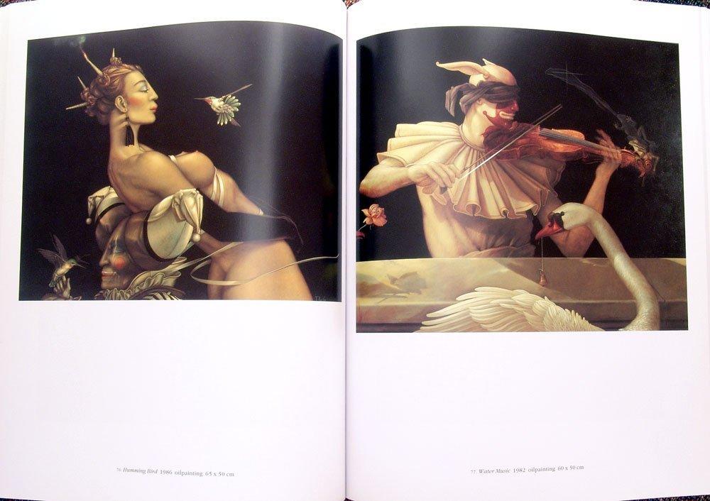 1994 Book MICHAEL PARKES Paintings, Drawings, & Lithos - 4