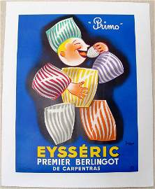 Orig Lithograph Print from France EYSSERIC Primo Ltd Ed