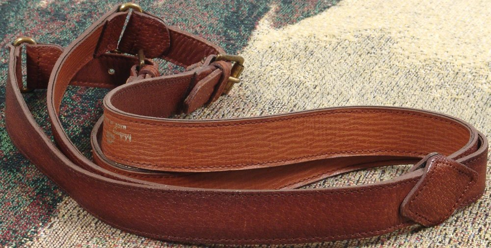 Vintage MULBERRY Leather Belt Double Buckle 1980s?