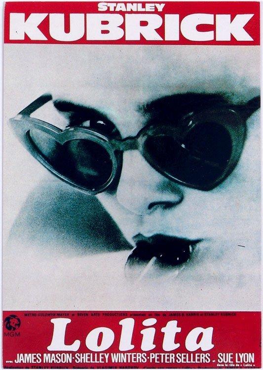 Vintage French Postcard LOLITA Stanley Kubrick