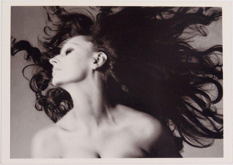 Vintage AVEDON Glamor Photo Postcard SOPHIA LOREN