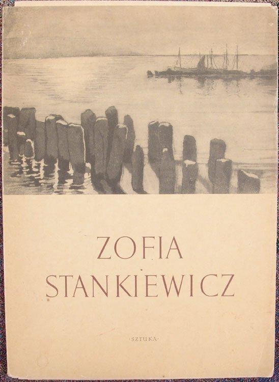 1954 Folio Famous Polish Artist ZOFIA STANKIEWICZ
