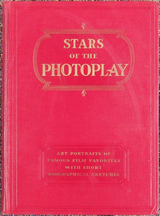 Vtg 1930 Book STARS OF PHOTOPLAY Portraits of Film