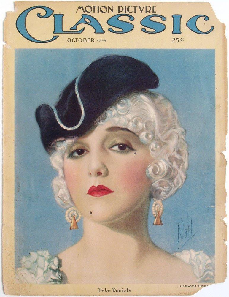 1924 MPC Cover - BEBE DANIELS in Monsieur Beaucaire