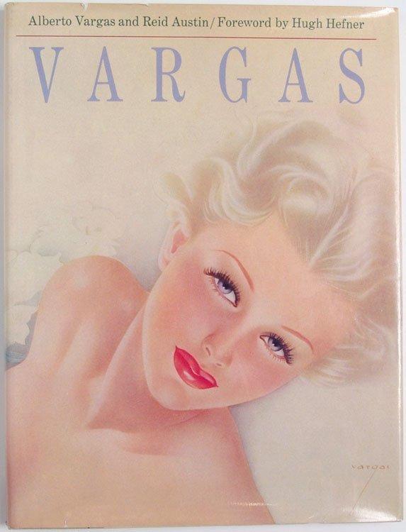 Vintage 1978 Book VARGAS by Alberto Vargas PIN-UP GIRLS