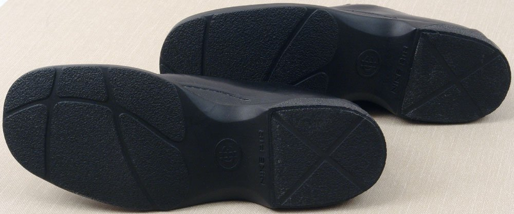 NIB Black COLE HAAN Nike Air Dress Loafer Women's Sz 9 - 5