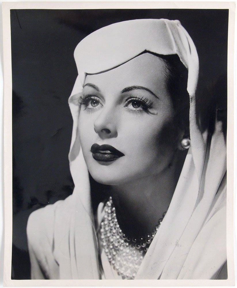 Vintage 1944 Photo HEDY LAMARR Stunning Portrait