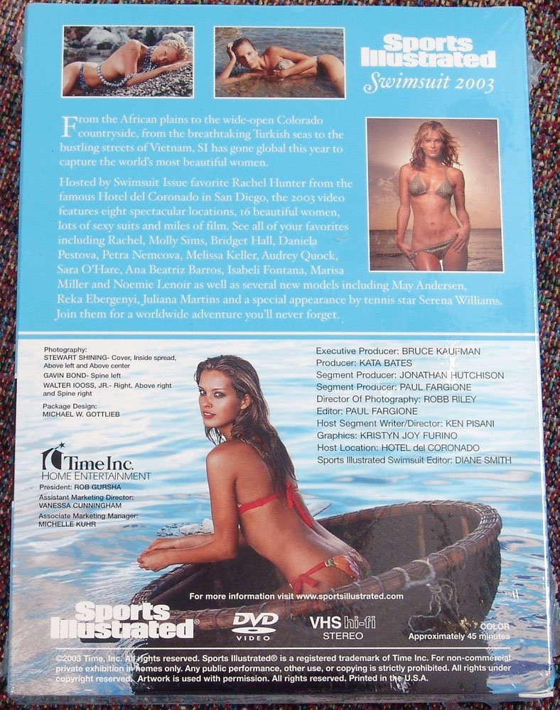 Brand New Sports Illustrated Swimsuit 2003 DVD & VHS - 2