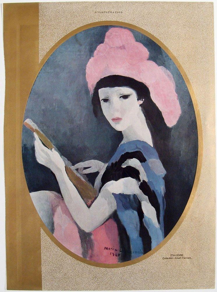 Vintage MARIE LAURENCIN L\'Illustration Magazine Prints