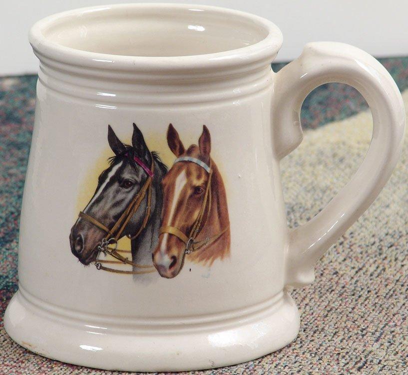 Vintage Horse Head Art Mug