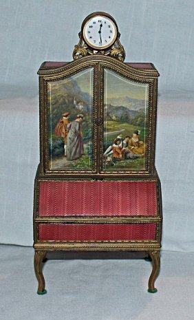 Cloissone Music Box/cosmetic Case
