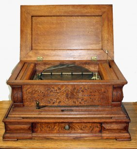 Oak Music Box