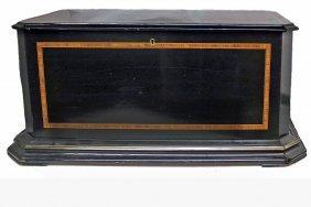 Cylinder Bird In Nest Music Box