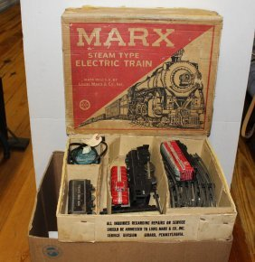 Marx Train In Original Box