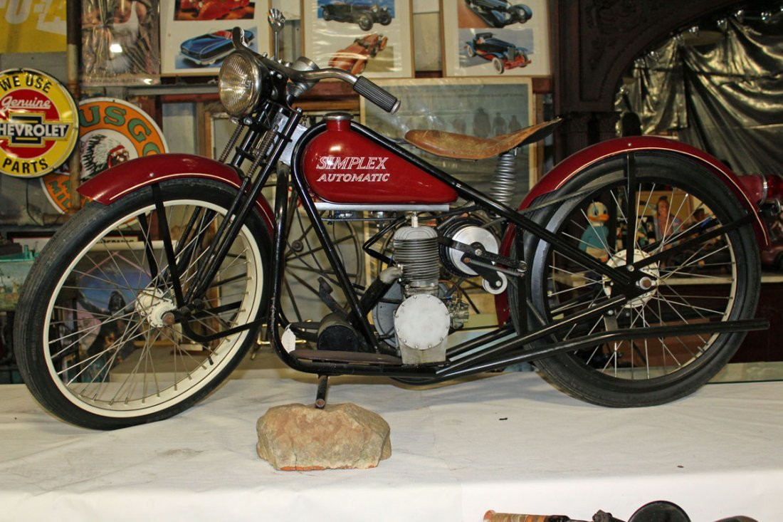 1955 Simplex Servi Cycle