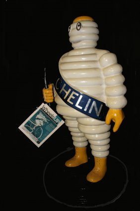 Michelin Man Figure