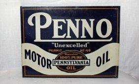 Penno Motor Oil Sign