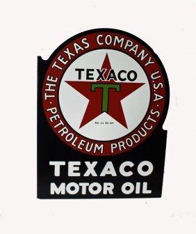 Texaco Oil Sign