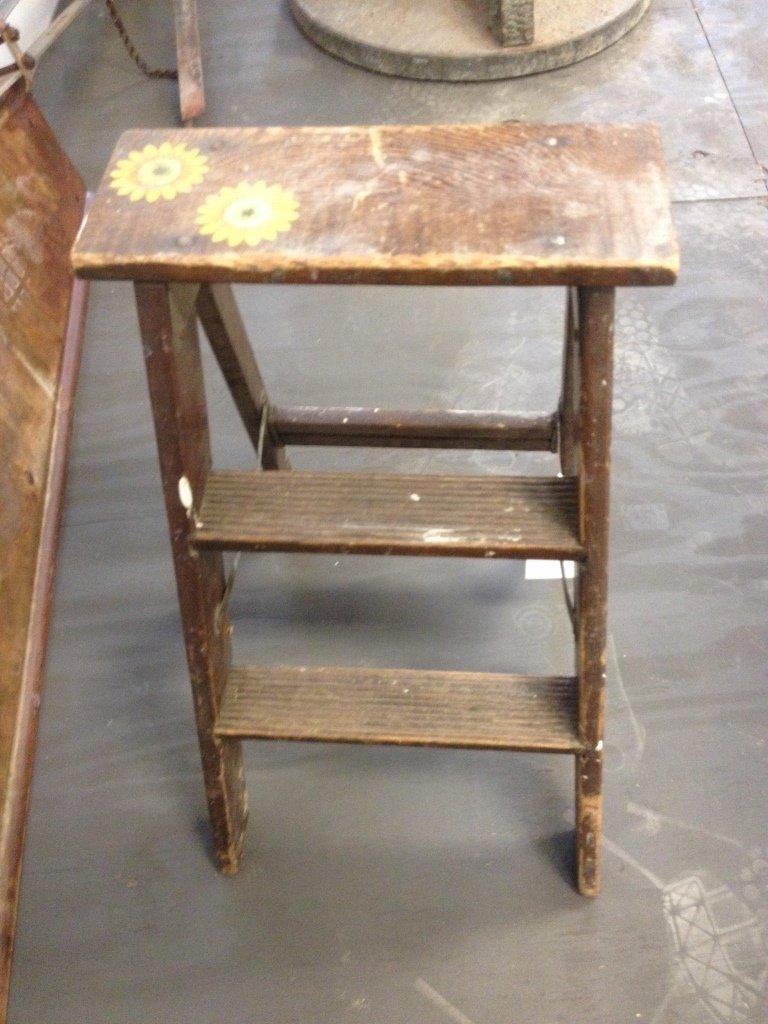 Small Decorative Step Ladder