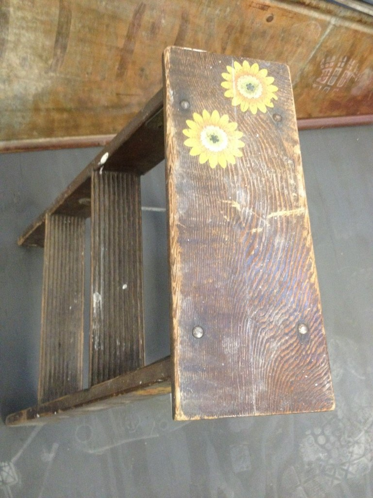 Small Decorative Step Ladder - 3