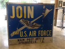 Air Force Recruiting Sign