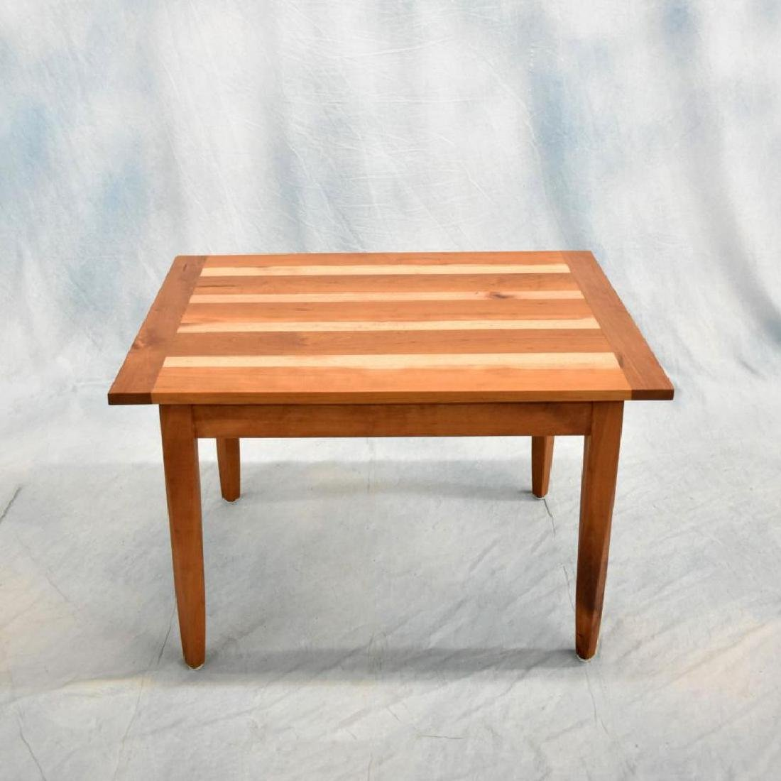 Handmade Cherry & Oak Coffee Table (By Chattanooga