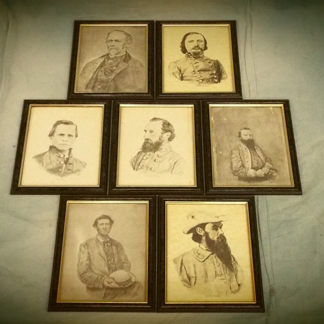 20 Confederate General Prints by Bobby Horton (17
