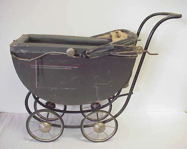 7: Victorian doll buggy.