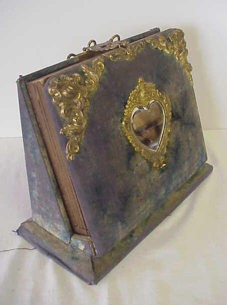 12: Victorian photo album.