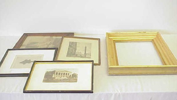 24: Framed works and frame.
