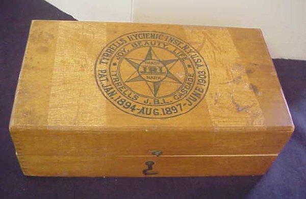 9: Tyrell's hygenic box.