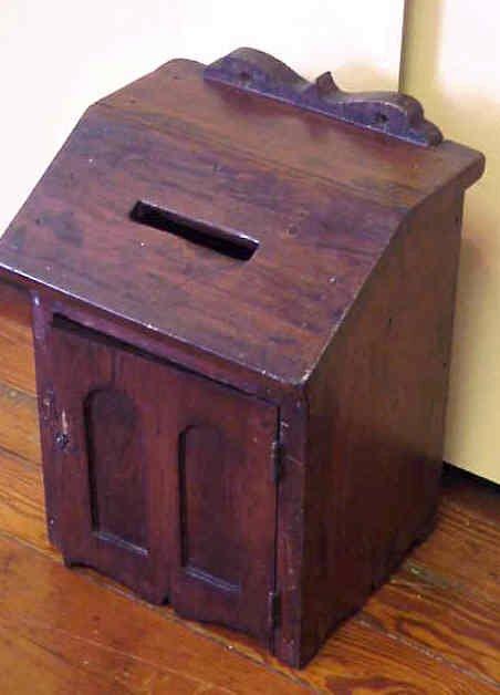 16: Ballot box.
