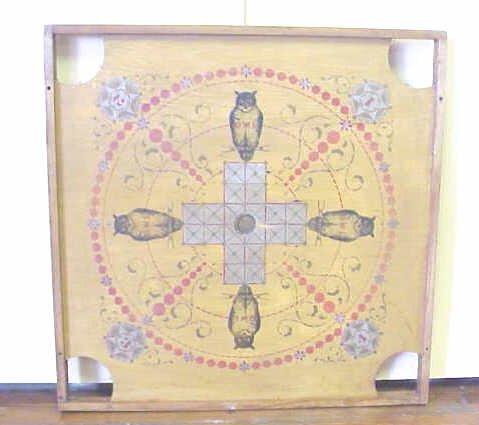 23: Owl game board.