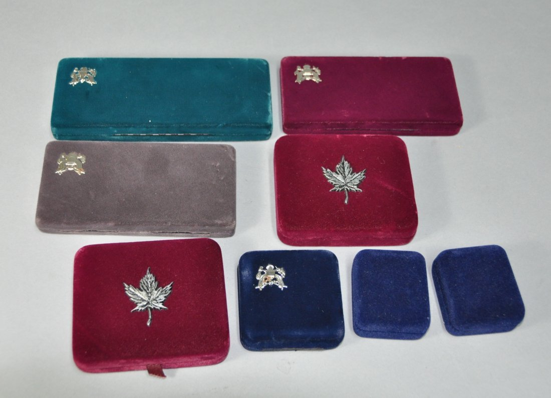 ( Lot of 8) flannel boxes