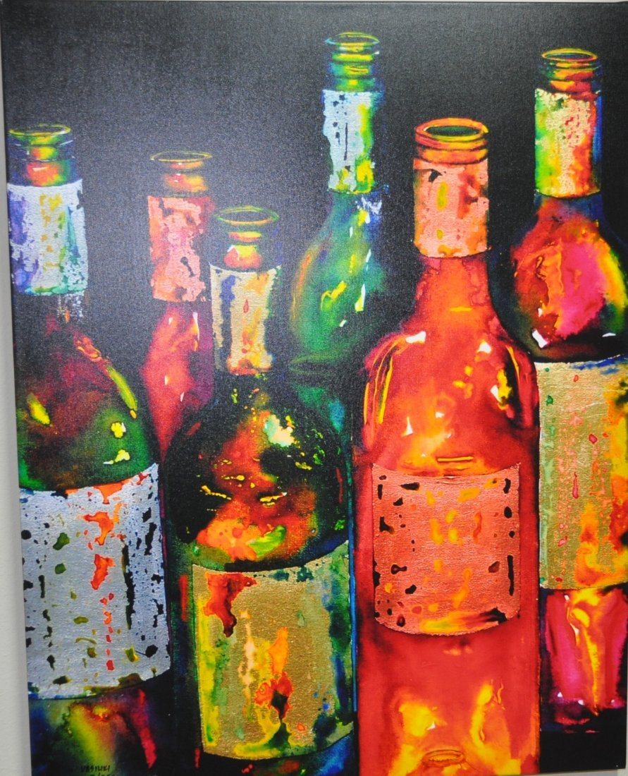 Uncorked Canvas Painting