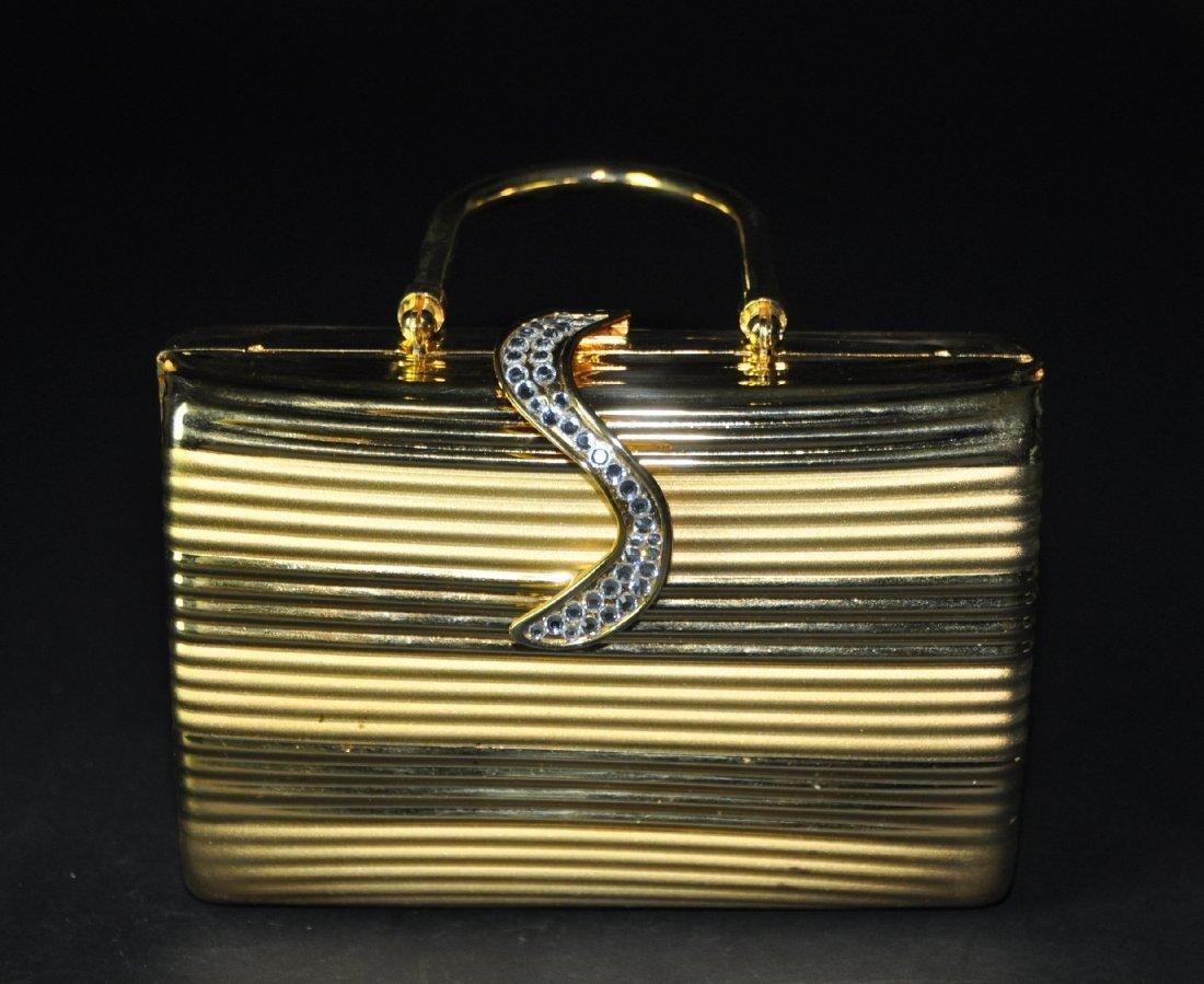 A  crystal handbag