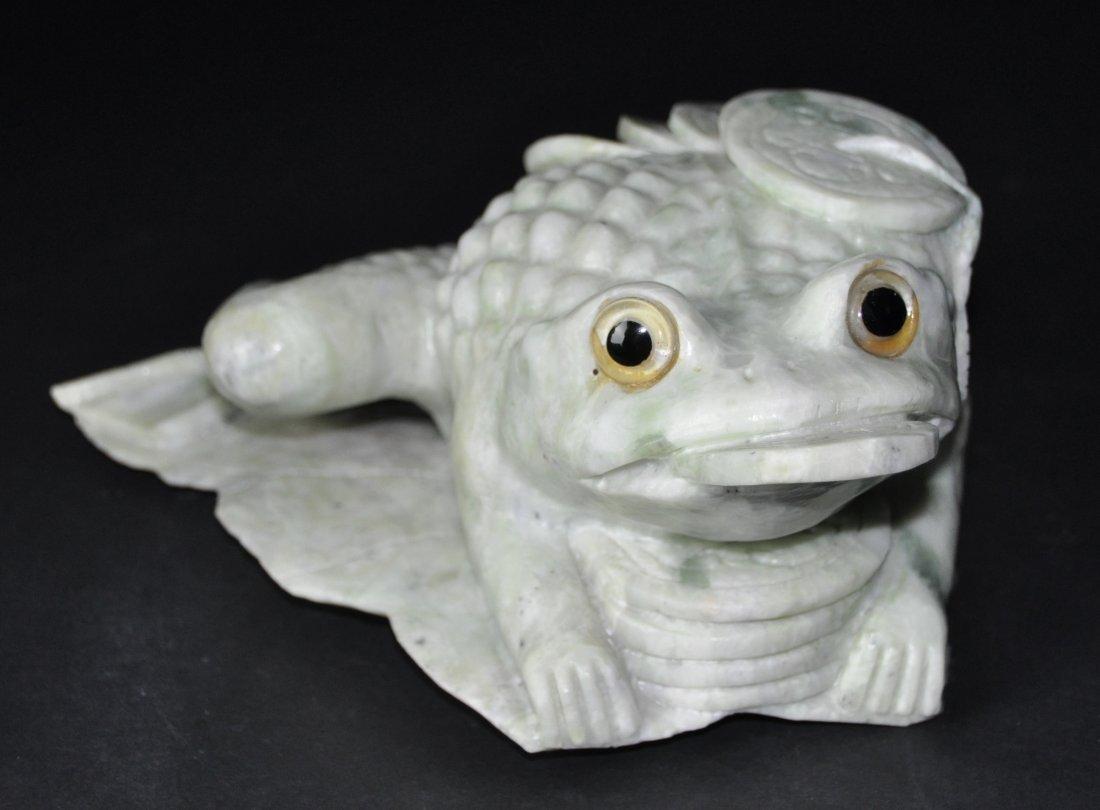 A jadeite  frog