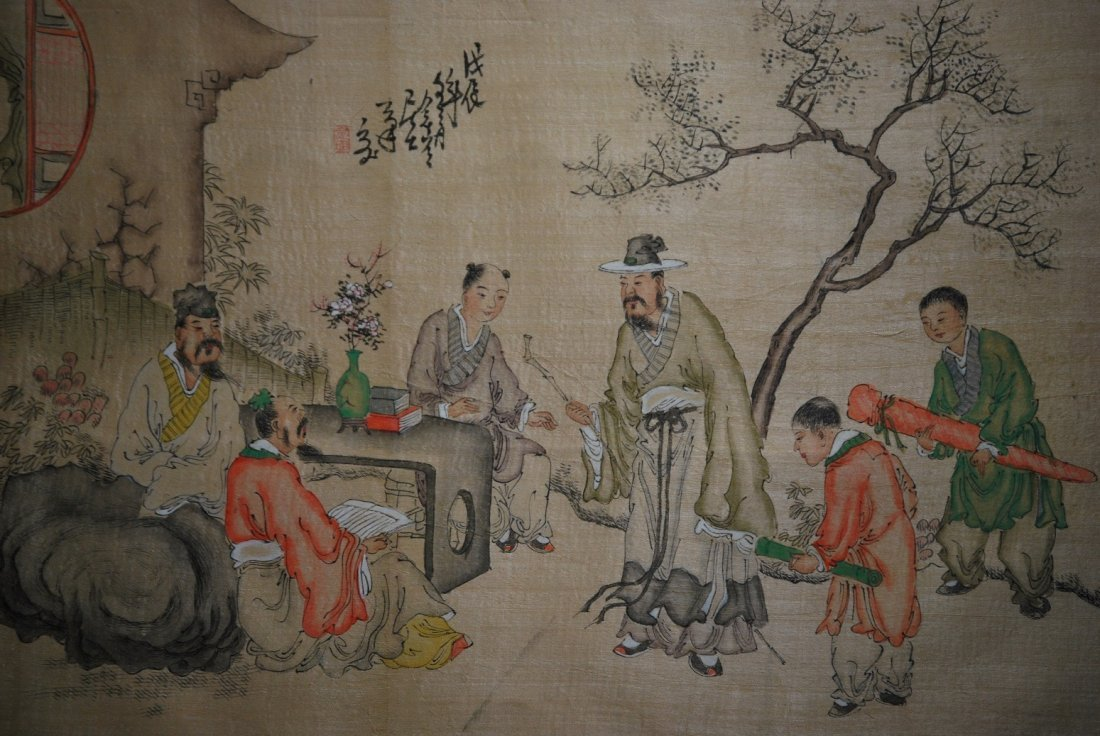 A Qing dynasty painting, Jin Nong