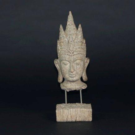 An Antique wood Buddha