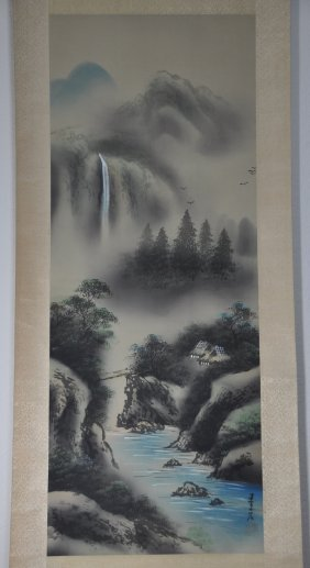 A fine 19th Century Japanese painting