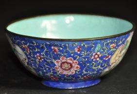 A Cloisonne-Enameled bowl, Republic period