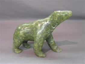 Cape Dorset Bear Inuit Carving,  Ashoona
