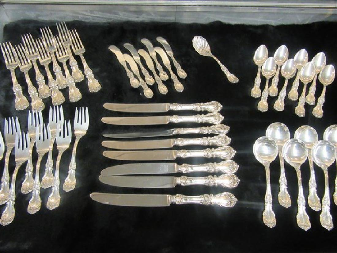 "Reed & Barton ""Burgundy"" Sterling Silver Flatware"
