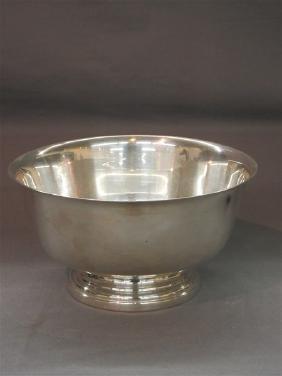 Preisner Sterling Silver Bowl