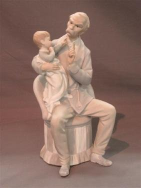 """Lladro Figurine Matte Finish """"The Grandfather"""""""
