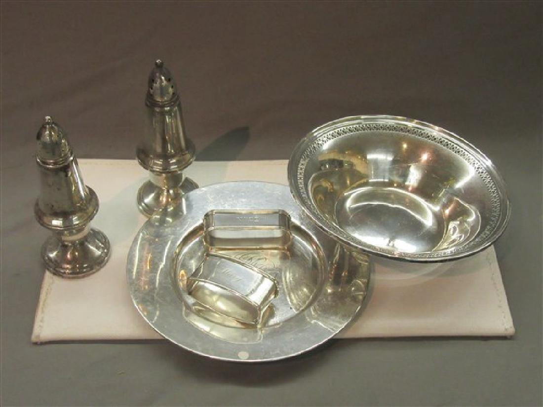Six (6) pc. Sterling Silver Tablewares Group