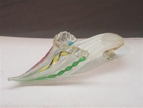 Venetian Glass Slipper